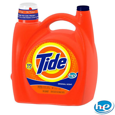 Tide HE with Acti-Lift Liquid Laundry Detergent, Original - 170 oz. - 110 loads