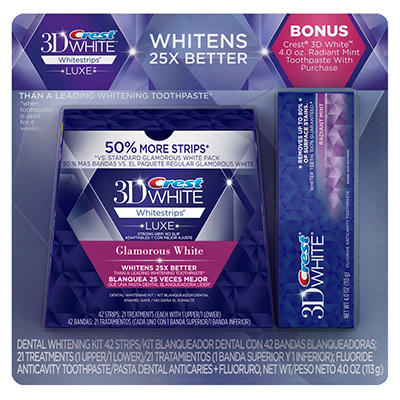 Crest 3D White Whitestrips Advanced Vivid - 21 pk.