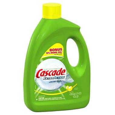 Cascade Extra Action Gel Dishwasher Detergent - 174 oz.