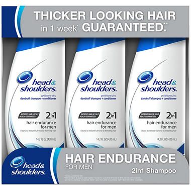 Head & Shoulders 2-in-1 Shampoo - Hair Endurance for Men - 3 / 14.2 oz.
