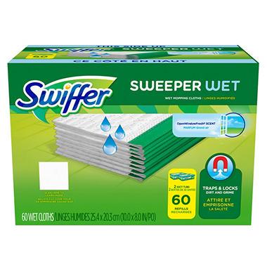 Swiffer WetJet Refills, Fresh Scent (60 ct.)