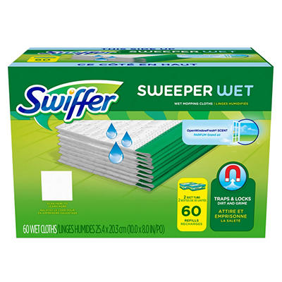 Swiffer WetJet Refills, Fresh Scent (60 ct.)