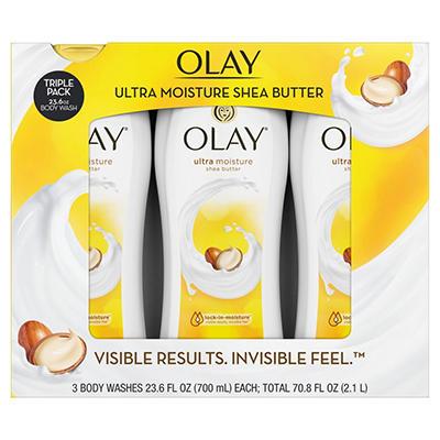 Olay Ultra Moisture Body Wash - 23.6 fl. oz. - 3 pk.