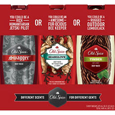 Old Spice Body Wash Variety Pack ( 16 fl. oz., 3 pk.)