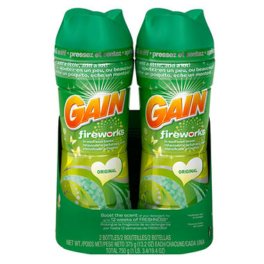 Gain Fireworks Original Scent Booster - 13.2 oz. - 2 pk.