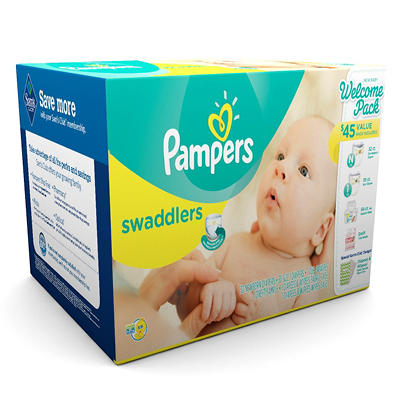 Pampers Swaddlers Newborn Kit