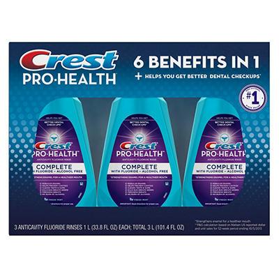 Crest Pro-Health Complete Rinse - 33.8 fl. oz. - 3 pk.
