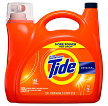 Tide Ultra Concentrated Liquid Laundry Detergent, Original, (146 lds, 225 oz.)