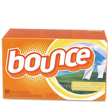 Bounce Fabric Softener Sheets - 160 ct.