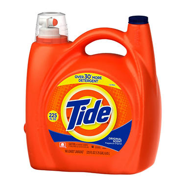 Tide Original Scent Liquid Detergent (225 oz.)