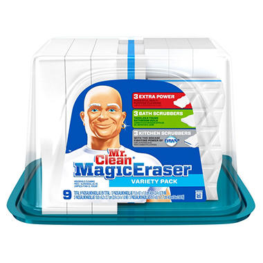Mr. Clean Magic Eraser - Variety Pack - 9 ct.