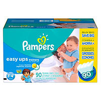 Pampers Easy Ups, Boys, Size 5, 3T-4T (30-40 lbs.), 90 ct.