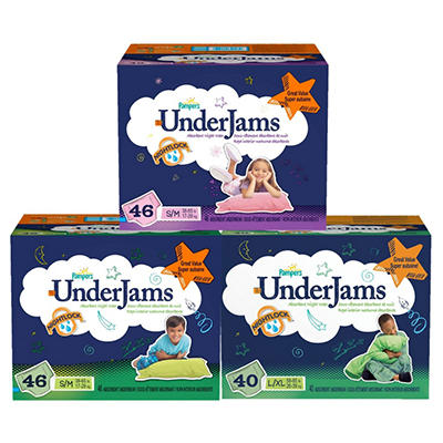 Pampers UnderJams Absorbent Night Wear Girls (Choose Your Size) (copy)