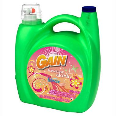 Gain Hawaiian Aloha with Febreze Liquid Laundry Detergent - 225 oz. - 108 loads