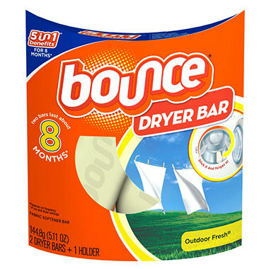 Bounce Dryer Bar - 2 Bars (8 Months)
