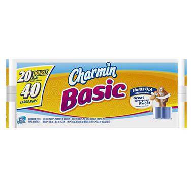 Charmin Basics Bath Tissue - 20 pk.