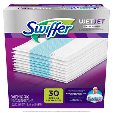 Swiffer Wet Jet Extra Power Pad Refills - 30 ct.