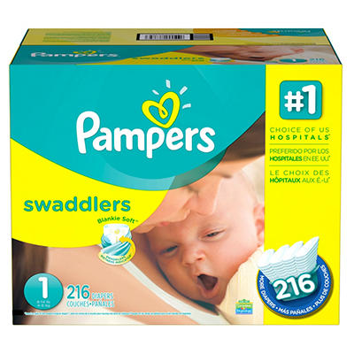 Pampers Swaddlers Diapers Economy Pack (Choose Your Size)