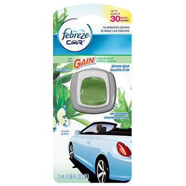 Febreze Car Vent Clip - Gain Original - 1 ct.