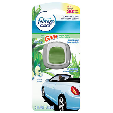 Febreze Car Vent Clip - Gain Original - 1 ct.