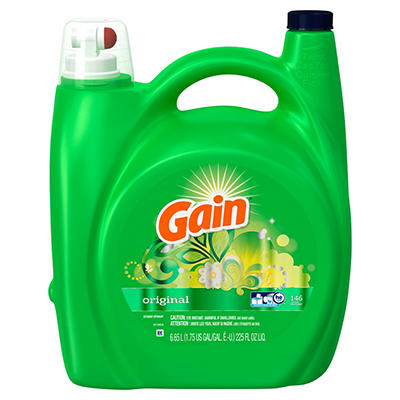Gain HE Original Liquid Laundry Detergent - 225 fl. oz.. - 146 loads