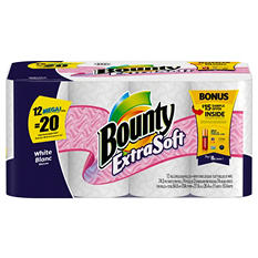 Bounty Extra Soft Paper Towels (12 ct. Mega Rolls)