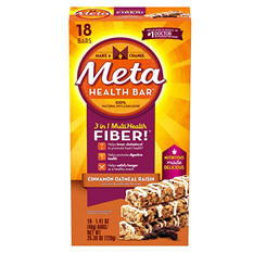 Meta Health Bar, Cinnamon Oatmeal Raisin (18 ct.)