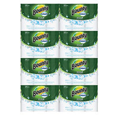 "Bounty Paper Towels with Dawn, 11"" x 14"", 2-Ply (49 sheets per roll 24 rolls per carton)"
