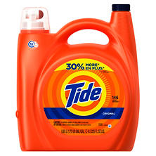 Tide HE Original Liquid Detergent (225 oz.,146 loads)