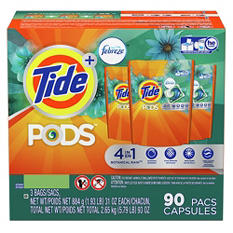 Tide Pods with Febreze (90 ct.)