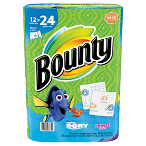 Bounty Select-A-Size Paper Towels (12 Double Rolls)