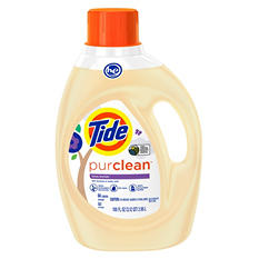 Tide HE PurClean Laundry Detergent (100 oz.)