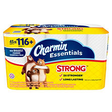Charmin Essentials Strong Toilet Paper (45 Giant Rolls)