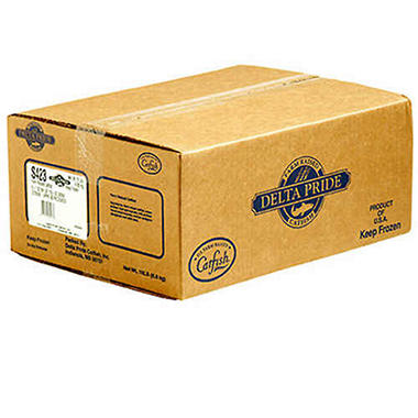 Delta Pride Farm Raised Catfish Fillets - 5/7 oz.