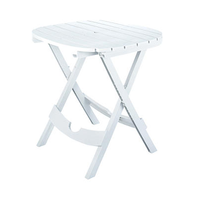 Quik-Fold Cafe Table - White