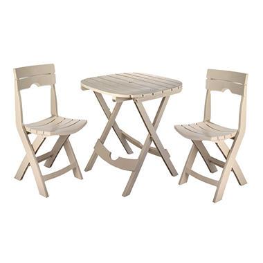 Quik-Fold Café Set - Desert Clay