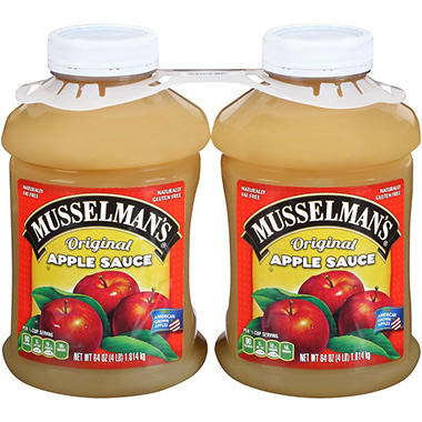 Musselman's? Apple Sauce - 2/64 oz.