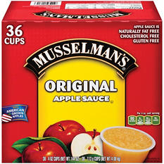 Musselman's Original Apple Sauce (4 oz., 36 ct.)