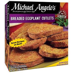 Michael Angelo's Italian Eggplant Cutlets - 3 lb.