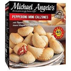 Michael Angelo's Pepperoni Mini Calzones - 3 lb.