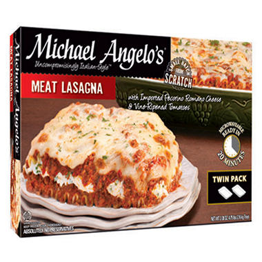 Michael Angelo's� Meat Lasagna - 2/38 oz.