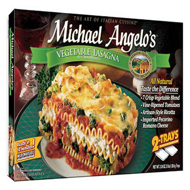 Michael Angelo's� Vegetable Lasagna - 2/24 oz.