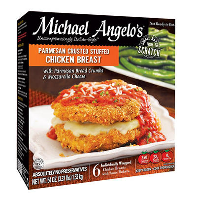 Michael Angelo's Parmesan Crusted Stuffed Chicken - 6 pk.