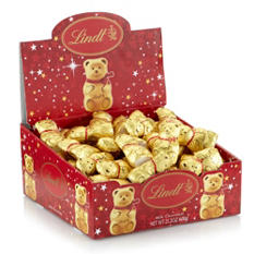Lindt Miniature Gold Bear Box (60 pc.)