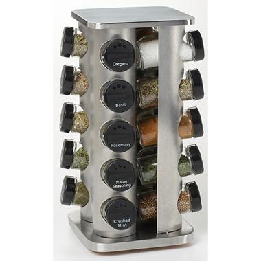 Kamenstein 20 Jar Spice Rack Tower