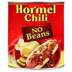 Hormel Chili No Beans (108 oz. can)