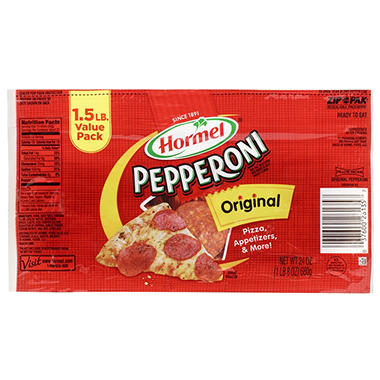 Hormel�  Sliced Pepperoni - 24 oz.