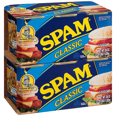 Spam Classic (12 oz., 6 pk.)
