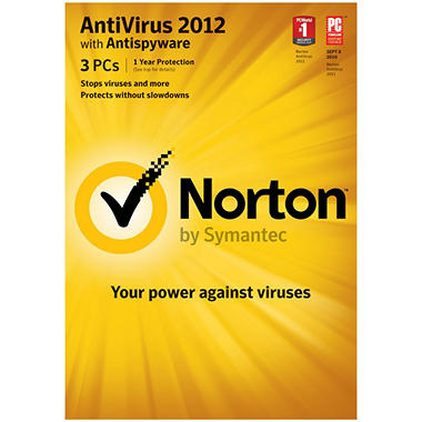 Norton AntiVirus 2012 3U - PC