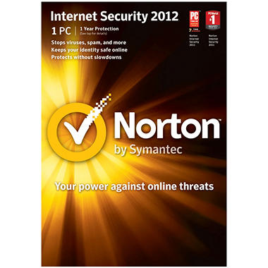 Norton Internet Security 2012 1U - PC
